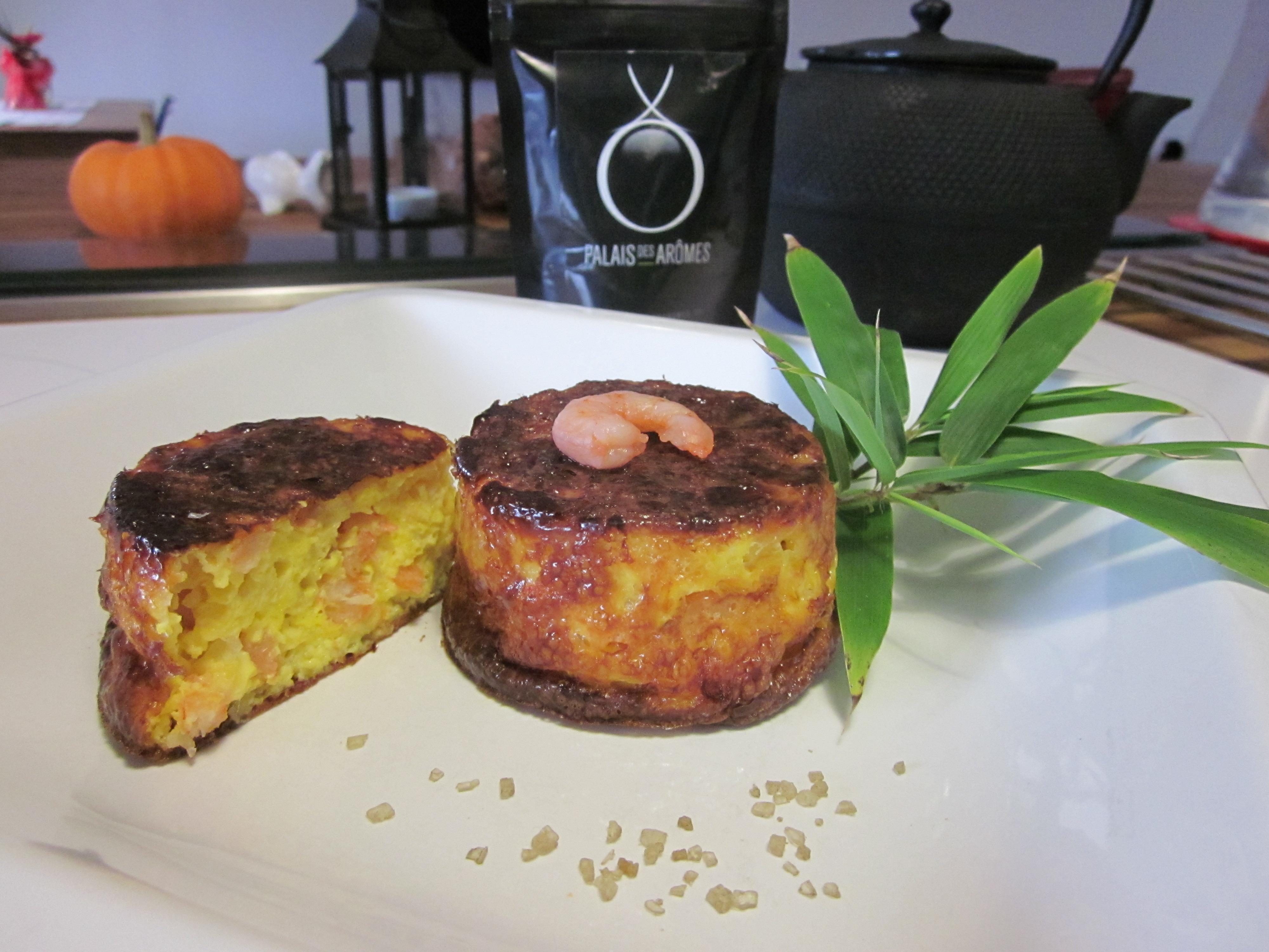 Petits flans crevettes poireaux au sel de bambou la cuisine de sucrette - Poireaux a repiquer vente ...
