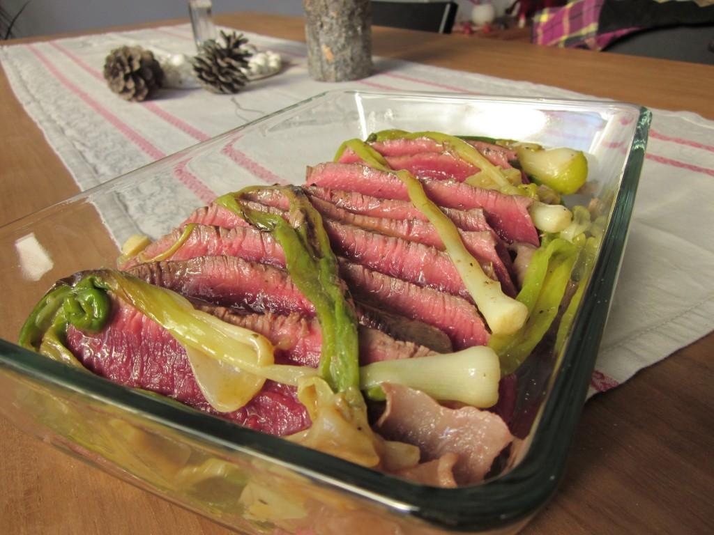 Rôti de boeuf aux petits oignons dans plats img_4076-1024x768