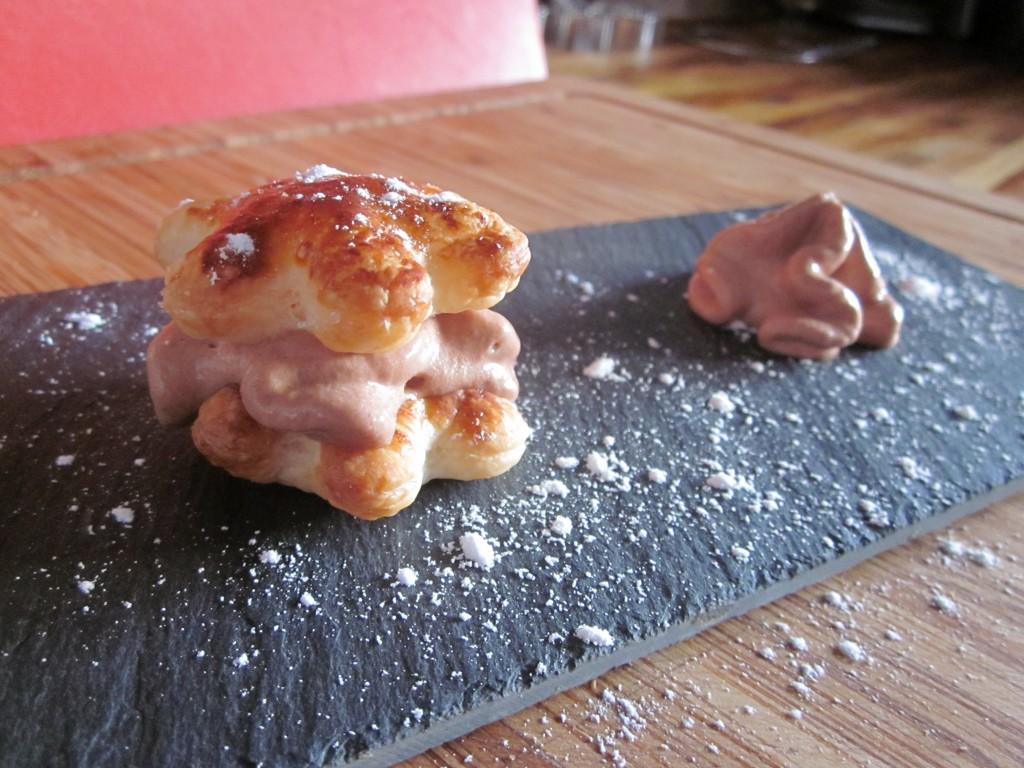 Autour du nutella #2 étoile feuilletée mousse nutella dans desserts img_4306-1024x768